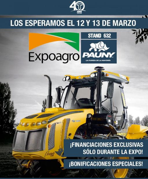 Estaremos en EXPO AGRO con muchos beneficios